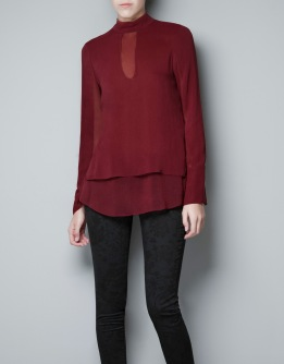Layered Studio Blouse