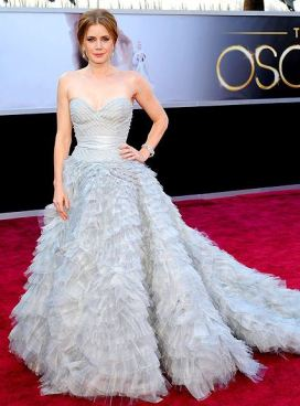 Amy Adams in Oscar de la Renta